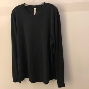Lululemon men's black LS top, sz XL, 64892